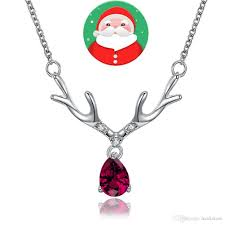 custom necklaces cheap merry christmas gold and silver necklace custom necklaces new