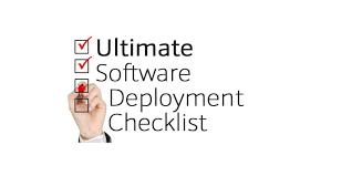 ultimate software deployment checklist u0026 deployment plan