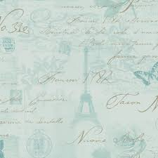 Paris Wallpaper For Bedroom by Holden Calligraphy Paris Postcard Wallpaper Duck Egg Neutral