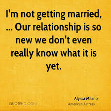 Getting Married Quotes Alyssa Milano Marriage Quotes Quotehd