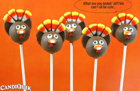 gobble gobble turkey cake pops about miss candiquik