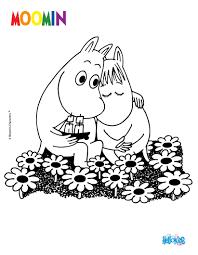 moomin in love online coloring page moomin pinterest moomin