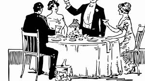 posh dinner party sound effect youtube