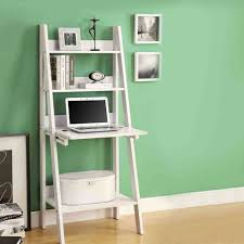 White Ladder Bookcase With Drawers by White Ladder Bookcase With Drop Down Desk Decoration Workspaces