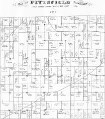pittsfield township historical society plat maps of pittsfield