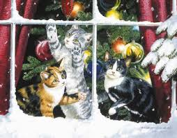 chasing snowflake christmas lights chasing snowflakes weirs persis clayton art cats pinterest cat