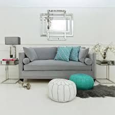 hatfield designer sofa collection silver studs choose fabric