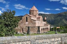 si e apostolique monastère sacré d odzun en arménie 5ème 7ème siècle photo stock