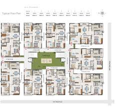 3 Bhk Apartment Floor Plan by Delighful Apartment Floor Plans In Hyderabad To View Plan