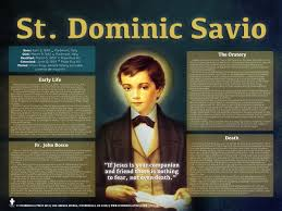 catholic gifts and more dominic savio explained poster dominic