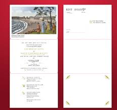 wedding programs exle tri fold wedding invitation template 13 psd formats