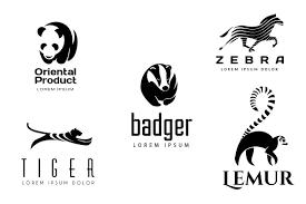 animal logos set 2 logo templates creative market