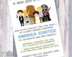 Star Wars Baby Shower Invitations - star wars baby shower invitation star wars baby by 5zero5designs
