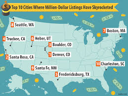 Colorado Map Cities by The U S Cities Where Million Dollar Homes Are Surging Curbed