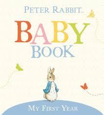 baby keepsake book my year the original rabbit baby book by beatrix