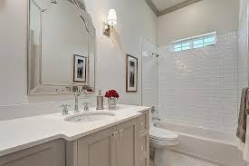 Guest Bathroom Vanity by Green And Gray Guest Bathroom Design Ideas
