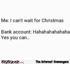 Can T Wait Meme - i can t wait for christmas funny sarcastic meme pmslweb