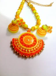 quilling earrings set quilling jewellery set online shopping for jewellery sets by