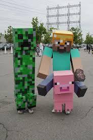 minecraft costume tami morin show joe this jaime u0027s 11th bday