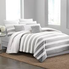 bed linen outstanding grey striped bedding grey striped comforter