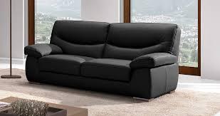 canapé cuir de vachette canapé cuir moderne confortable haut dossier sur univers du cuir