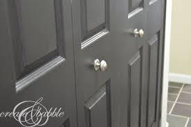 Black Interior Paint Black Interior Doors Create And Babble