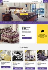 6 superb ecommerce templates and themes for online linen stores