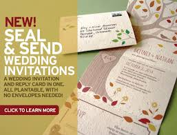 plantable wedding invitations new seal and send wedding invitations stationery scoop the