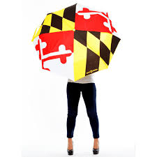 Standard Golf Flag Size Maryland Flag Golf Umbrella From Route One Apparel Bailey