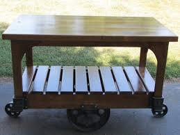 iron kitchen island refurbished antique cast iron lineberry cart cherry wood kitchen