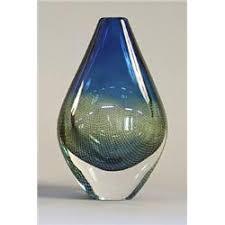 Orrefors Vase Vase Glass Sven Palmkvist Orrefors Sweden Signed Orrefors