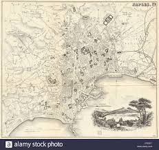 Map Of Naples Italy by Napoli Map Stock Photos U0026 Napoli Map Stock Images Alamy