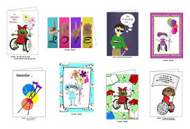 boxed sets 8 assorted cards push living store