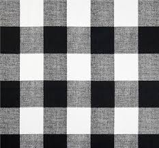 Drapery Material Crossword Black U0026 White Buffalo Check Fabric By The Yard Designer Cotton
