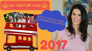 uk visitor visa 2017 apply for a uk tourist visa documents