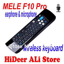 android keyboard with microphone mele f10 pro usb 2 4g wireless fly air mouse keyboard with mic