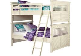 Emmas Escape White Wash Full Full Bunk Bed Beds White - Rooms to go bunk bed