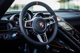 porsche 918 spyder interior for sale one stunning gulf livered porsche 918 spyder