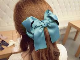 ribbon ponytail buy sannysis 1pc women durable multi color satin ribbon bow