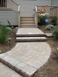 Circle Patio Furniture by Romantic Grey Patio Stones For Garden Paving Designs On Subway