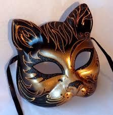 italian masquerade mask cat safari masquerade mask italian made insignia masks