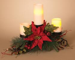 christmas candle holders metal triple candle holder centerpiece