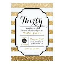 30th birthday invitations u0026 announcements zazzle