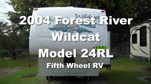 2005 Forest River Cardinal Fifth Wheel Rv 2004 Forest River Wildcat 24rl Youtube