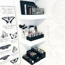 Makeup Vanity Storage Ideas Diy Makeup Storage You Makeup Vidalondon
