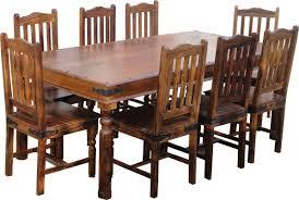 ethnic elements ganga sheesham dining set with 8 chairs u0026 reviews
