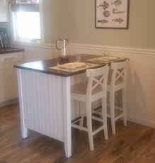 Kitchen Island Makeover Coastal Makeover For Stenstorp Kitchen Island Ikea Hackers