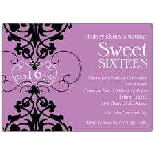 elegant sweet 16 invitations sweet sixteen party invitation ideas sweet 16 party ideas best