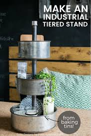 diy three tiered stand from baking tins u2022 grillo designs