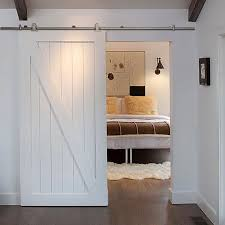 Install Sliding Barn Door by How To Install U0026 Sliding Barn Door Track John Robinson House Decor